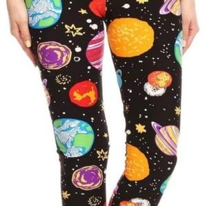 Pants - Space leggings